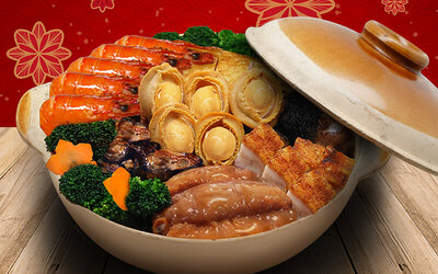 [CNY] Prosperous Roast Pork Poon Choi for 10 People