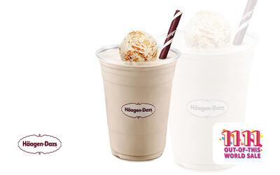 [Ultra 11.11] Häagen-Dazs: Buy 1 Free 1 Peanut Butter Crunch Milkshake