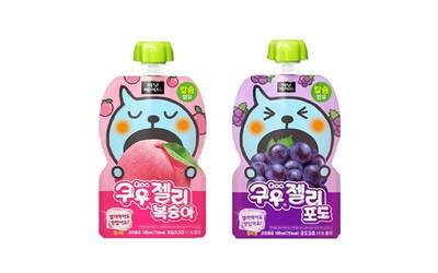 One (1) Qoo Grape Jelly Pack + One (1) Qoo Peach Jelly Pack