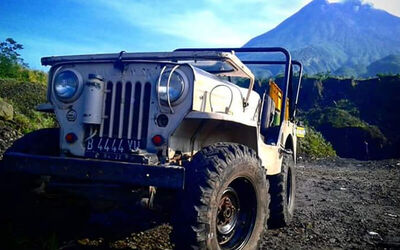 Merapi Jeep Sunrise Trip (for Max. 4 Pax)
