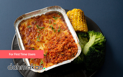 dahmakan: RM14 Off for First Time Users