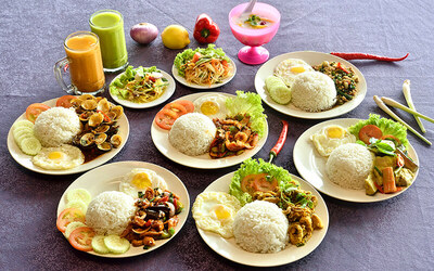 5-Course Thai Set Lunch for 1 Person