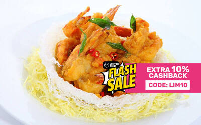 [Flash] $100 Cash Voucher for Chinese Cuisine