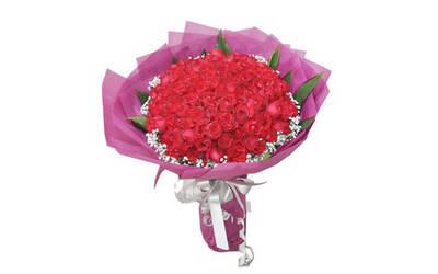 99-Stalk Fresh Rose Bouquet