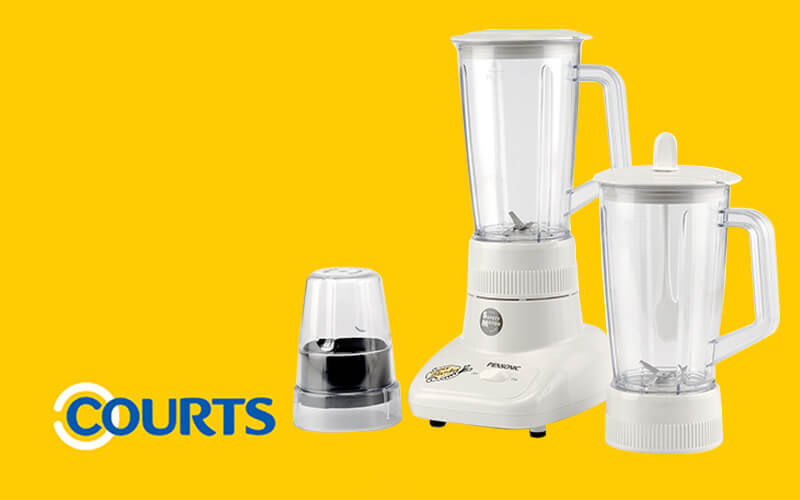 One (1) Pensonic 1L Blender with Extra Jug and Dry Mill