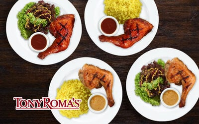 [Fave Exclusive] Tony Roma's Crazy Chicken Deal