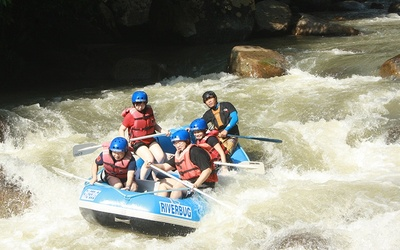 White Water Rafting with Kandu Cave Exploration for 6 People