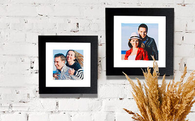 "One (1) 12"" x 12"" Wall Photo Frame"
