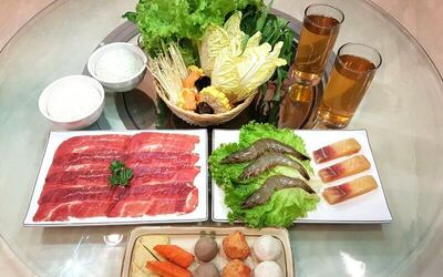 Lunch 4 Persons