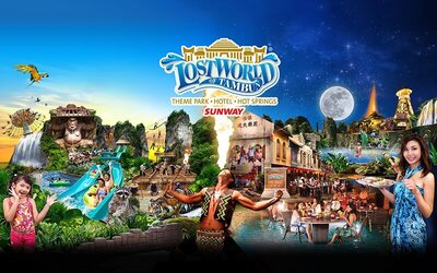 Admission to Sunway Lost World Of Tambun for 1 Child