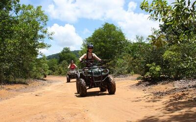 Phuket: 1-Hour All-Terrain Vehicle (ATV) Ride with Return Hotel Transfer for 2 People