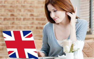 12-Month Unlimited Subscription to English Language Courses with British Language Center for 1 Person