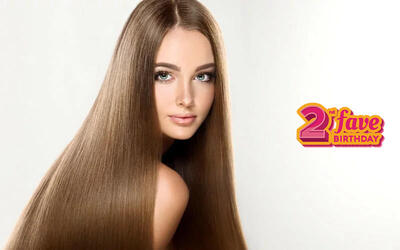 [Buy 1 Get 1] Fresh Hair + Back, Hand & Chest Massage + Hot Stone + Hair Wash + Blow Natural