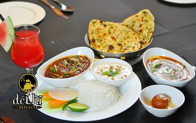 Vegetarian North Indian Set Lunch for 4 People
