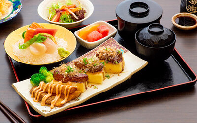 Japanese Set Lunch For 1 Person
