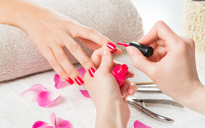 Classic Mani-Pedi with Nail Whitening Treatment for 1 Person