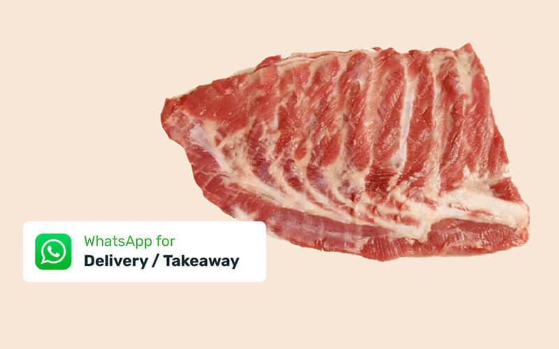 1kg Premium Spare Ribs with Delivery