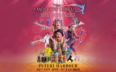 Johor: Family Package: Premium Admission Ticket to The Moscow Circus for 4 People