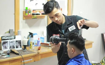 Better Man Package (Hair Cut + Shoulder Massage + Styling with Pomade / Hairtonic)