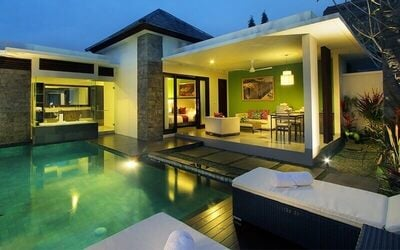 Bali: 4D3N Stay in 1-Bedroom Private Pool Villa with Breakfast for 2 People