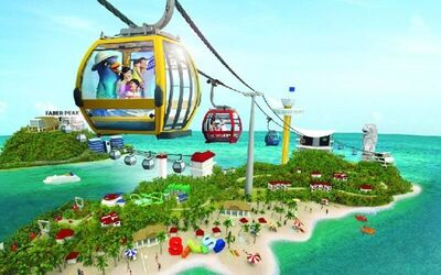 Cable Car Sky Pass Round Trip + Two (2) Rounds Segway at Fun Ride + Tiger Sky Tower (Single Ride) for 1 Child