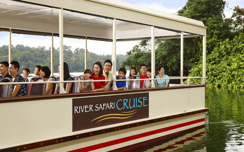 River Safari with Two (2) Boat Rides for 1 Adult