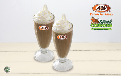 September Coupon: 2 Milkshakes (Vanilla / Chocolate / Strawberry)
