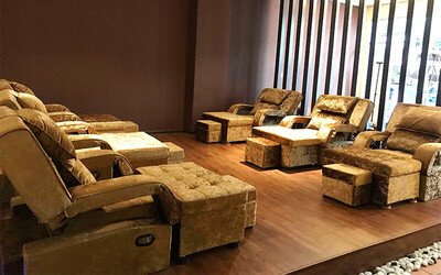 1-Hour Foot Massage + Muscle Relief Massage for 2 People