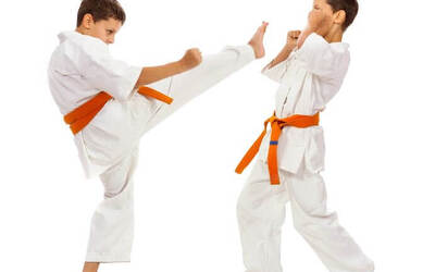 1-Month of Karate Lessons for 1 Child (4 Classes)