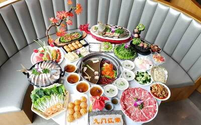 Elite Seafood and Meat Hotpot Buffet for 1 Adult