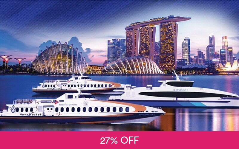 Ferry To Batam Majestic Fast Ferry Return Tickets With