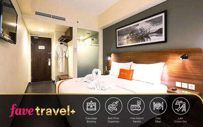 [FAVE Travel+] Legian: 4D3N Stay in Superior Room + Breakfast + one way airport transfer