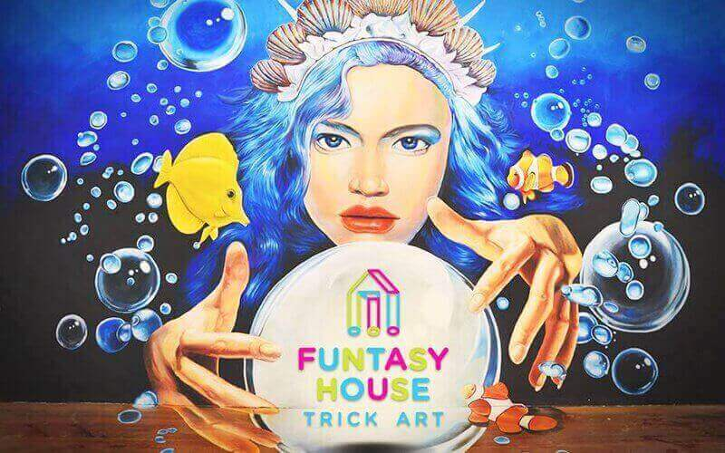 1-Day Admission to Funtasy House Trick Art for 1 Child (MyKad Holders)
