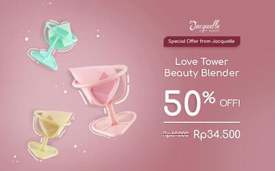 [#MondayMadness] Love Tower Beauty Blender
