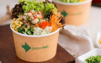 Sea-Salt Shrimp Poké Bowl with Unlimited Toppings for 1 person