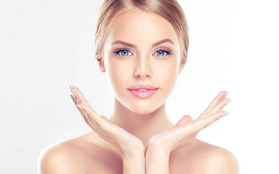 V Shape Face With Cavitation + Brightening Face Mask (35 Minutes)