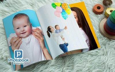 "8"" x 11"" Medium Portrait Softcover Photobook (40 Pages)"