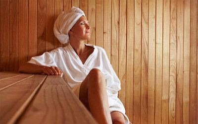 75-Minute Infrared Sauna + Foot Detox for 1 Person