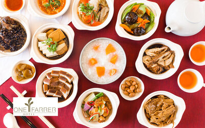 Teochew Porridge Supper Buffet with Free Flow Chinese Tea for 1 Person