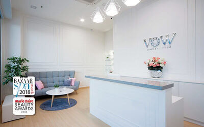 Shine and Bright Pico Laser + DPL Laser Facial Treatment + Lip and Neck Treatment for 1 Person (2 Sessions)