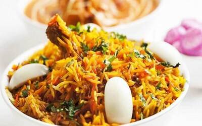 Chicken Briyani with Coffee/Tea for 2 People