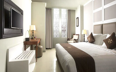 Yogyakarta: 4D3N in Deluxe Room (Room Only)