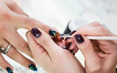 Gel Manicure with Four (4) Nail Arts for 1 Person