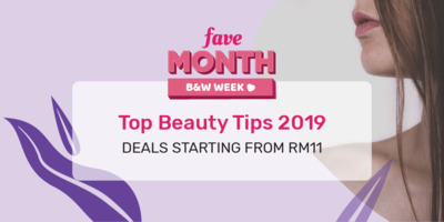 [Fave Month in Johor] Top Beauty Tips
