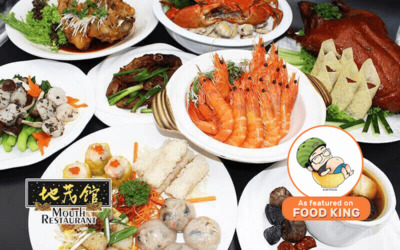 9-Course Chinese Meal with Abalone, Crab, and Seafood for 10 People