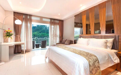 Puncak: 2D1N Junior Suite Room (RO)