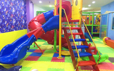 (Sat - Sun) Unlimited Indoor Playground Pass for 1 Child (3-12 Years Old)