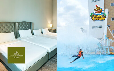 Bangi: 2D1N Stay in Deluxe King Room with Breakfast + Bangi Wonderland Themepark Pass for 2 People