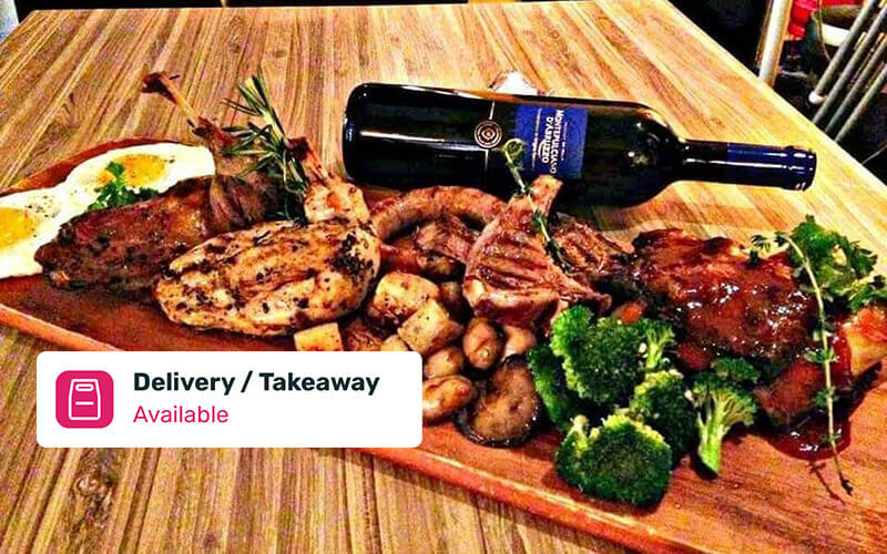 Grilled Platter for 4 People with Delivery