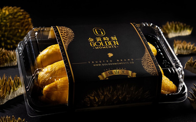 [Y.E.S] GOLDEN MOMENTS - Premium Black Gold Mao Shan Wang Durian (350g - 450g)